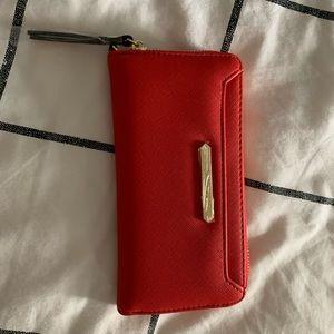 Steve Madden Red Wallet